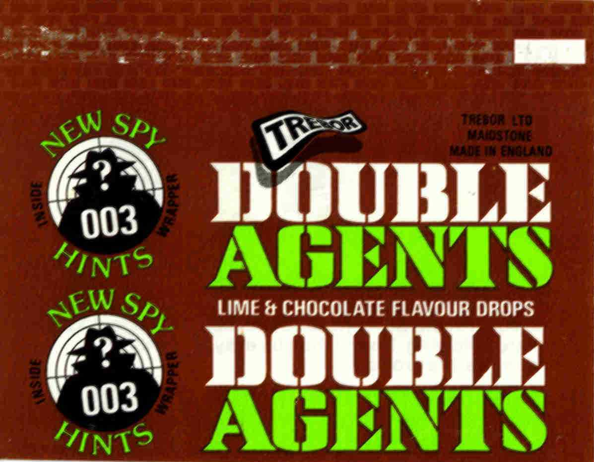 Double Agents - lime & chocolate flavour