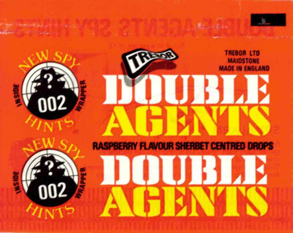 Double Agents - raspberry flavour