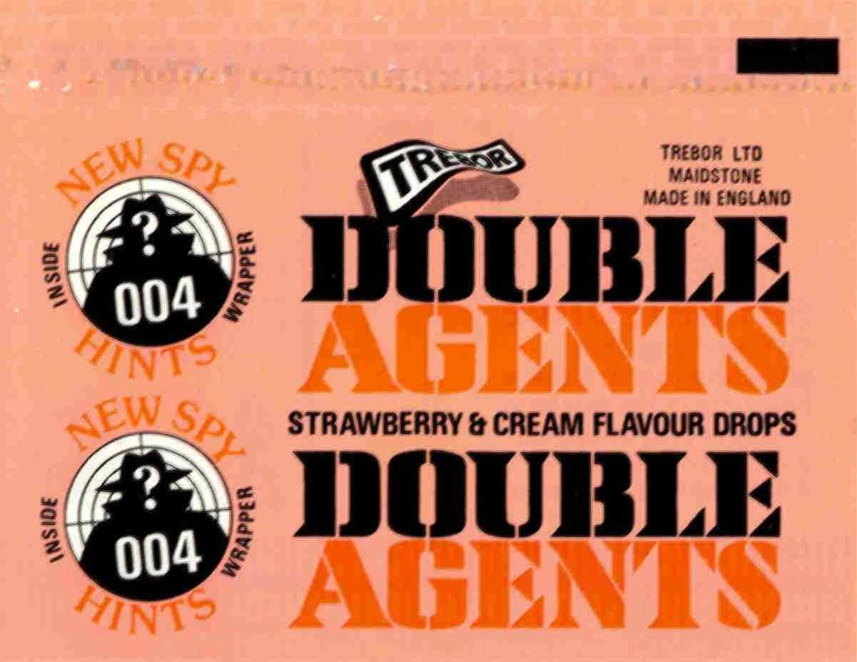 Double Agents - strawberry & cream flavour